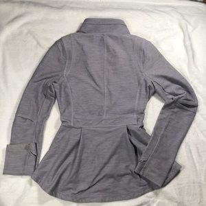 lululemon athletica Jackets & Coats - AMAZING Lululemon grey jacket size 10 rare